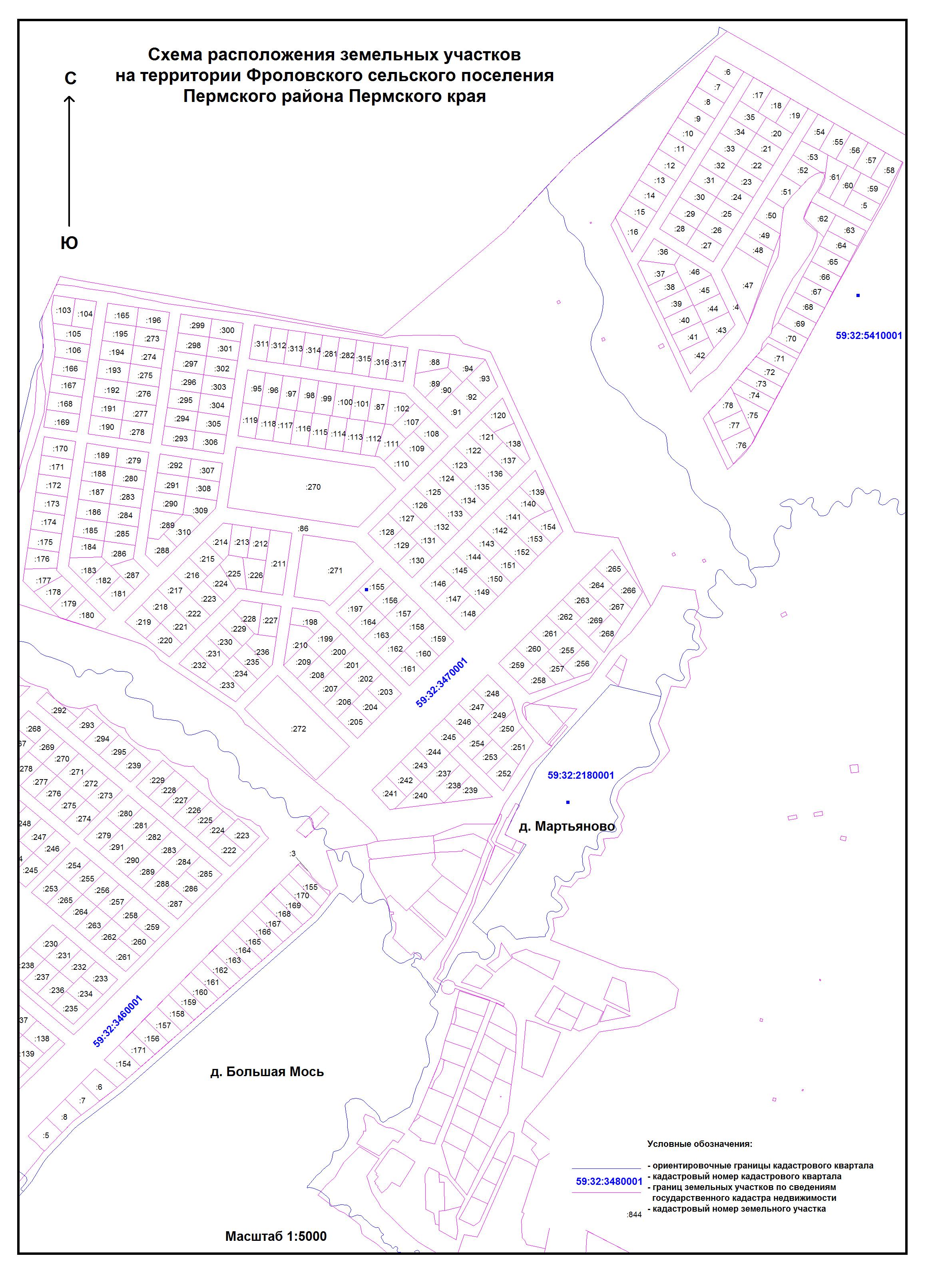 Балаково схема участков