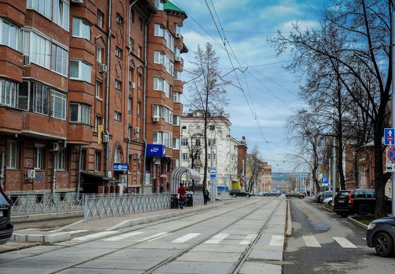 Отремонтировали улицу Горького раньше срока