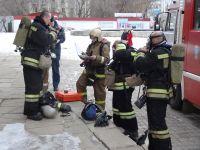 Пожар локализован, люди эвакуированы, пострадавшим оказана первая помощь