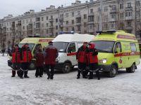 Скорая помощь и Центр медицины катастроф также принимали участие в учениях