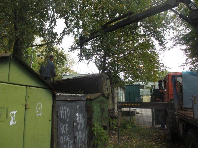 Строительство ангаров гаражей в москве