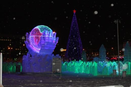 ВПерми из-за тёплой погоды закрыли ледовый городок