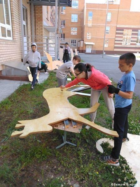 На набережной в Кировском районе появятся арт-объекты, изготовленные пермскими школьниками
